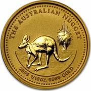 Australia 15 Dollars The Australian Nugget 2004 KM# 907 THE AUSTRALIAN NUGGET 1/10 OZ. 9999 GOLD 2003 JM coin reverse