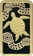 Australia 15 Dollars Turtle Dreaming 2008 KM# 1104 - coin reverse