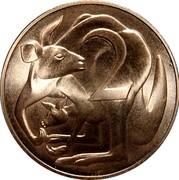 Australia 2 Cents Kangaroo Stuart Devlin 2017 Uncirculated 2 coin reverse