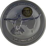 Australia 2 Dollars Australian Kookaburra 2002 Kookaburra Palindrome 1771 Spanish Pillars KM# 678 AUSTRALIAN KOOKABURRA 2002 2 OZ. 999 SILVER coin reverse