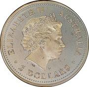 Australia 2 Dollars Australian Peacekeepers - Navy 2005 KM# 756 ELIZABETH II AUSTRALIA 2 DOLLARS IRB coin obverse