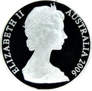 Australia 2 Dollars Australia's wildlife 2006 KM# 852 ELIZABETH II AUSTRALIA 2006 coin obverse