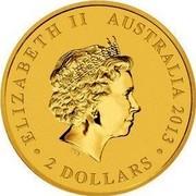 Australia 2 Dollars Mini Roo 2012 KM# 1825 ELIZABETH II AUSTRALIA 2013 2 DOLLARS IRB coin obverse