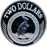Australia 2 Dollars Port Phillip 2003 KM# 764 TWO DOLLARS PORT PHILLIP 1853 AUSTRALIA coin reverse