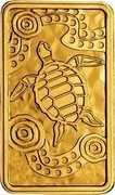 Australia 20 Dollars Turtle Dreaming 2008 Proof KM# 1105 coin reverse
