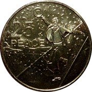 Australia 25 Cents Anzac to Afghanistan Series - Peace 2016  25 PEACE coin reverse