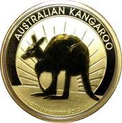 Australia 25 Dollars Kangaroo 2011 P KM# 1769 AUSTRALIAN KANGAROO 2011 1/4OZ 9999 GOLD coin reverse