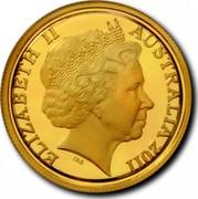 Australia 25 Dollars President's Cup 2011 Proof KM# 1623 ELIZABETH II AUSTRALIA 2011 IRB coin obverse