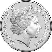 Australia 5 Cents 25th Anniversary Bananas in Pyjamas 2017  ELIZABETH II AUSTRALIA 2017 IRB coin obverse