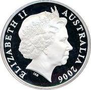 Australia 5 Dollars 150 Years of State Government 2006 KM# 857 ELIZABETH II AUSTRALIA 2006 IRB coin obverse