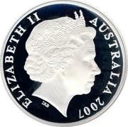 Australia 5 Dollars 150 Years of State Government 2007 KM# 1046 ELIZABETH II AUSTRALIA 2007 IRB coin obverse