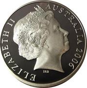 Australia 5 Dollars Jeffrey Smart - Keswick Siding 2006 Proof KM# 860 ELIZABETH II AUSTRALIA 2006 coin obverse