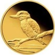 Australia 5 Dollars Kookaburra 20th Anniversary 2009 Proof KM# 1314 coin reverse