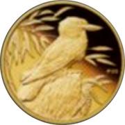 Australia 5 Dollars Kookaburra at nest left head right 2009 Proof KM# 1304 P20 coin reverse