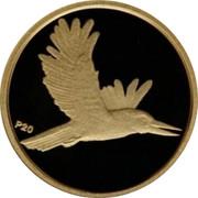 Australia 5 Dollars Kookaburra in flight right 2009 Proof KM# 1303 P20 coin reverse