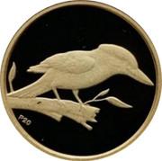 Australia 5 Dollars Kookaburra on branch head right 2009 Proof KM# 1298 P20 coin reverse