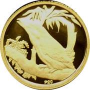 Australia 5 Dollars Kookaburra on branch left 2009 Proof KM# 1299 P20 coin reverse