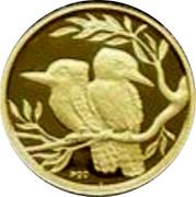 Australia 5 Dollars Kookaburra pair facing opposite 2009 Proof KM# 1308 P20 coin reverse