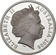 Australia 5 Dollars Northern Territory 2008 KM# 1065 ELIZABETH II AUSTRALIA 2008 IRB coin obverse