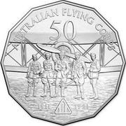 Australia 50 Cents Australians at War - Australian Flying Corps 2014 KM# 2160 AUSTRALIAN FLYING CORPS 50 1911 1921 coin reverse