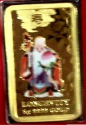 Australia 8 Dollars Chinese Mythological Character - Longevity 2008 P KM# 1270 LONGEVITY 5G 9999 GOLD coin reverse
