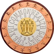 Australia Fifty Dollars Commonwealth Games Manchester 2002 KM# 648 THE XVII COMMONWEALTH GAMES MANCHESTER 2002 coin reverse
