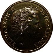 Australia One Dollar Year of the Farmer 2012 KM# 1738 ELIZABETH II AUSTRALIA 2012 IRB coin obverse