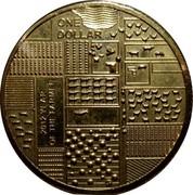 Australia One Dollar Year of the Farmer 2012 KM# 1738 ONE DOLLAR 2012 YEAR OF THE FARMER coin reverse
