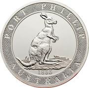 Australia Ten Dollars Standing Kangaroo 2003 KM# 766 PORT PHILLIP AUSTRALIA 1853 coin reverse