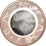 Australia 1 Cent Pluto 2017 PLUTO coin reverse