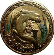 Australia 1 Dollar Alphabet Collection Coin Letter G 2015  G coin reverse