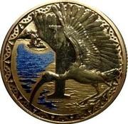 Australia 1 Dollar Alphabet Collection Coin Letter I 2015  I coin reverse