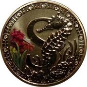 Australia 1 Dollar Alphabet Collection Coin Letter S 2015  S coin reverse