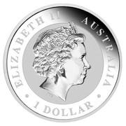 Australia 1 Dollar Australian Koalas (Gilded) 2011 ELIZABETH II AUSTRALIA 1 DOLLAR IRB coin obverse