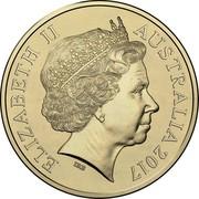 Australia 1 Dollar Battle of Beersheba 2017 ELIZABETH II AUSTRALIA 2017 IRB coin obverse