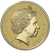 Australia 1 Dollar Commonwealth Games Borobi Coloured 2018 ELIZABETH II AUSTRALIA 2018 IRB coin obverse