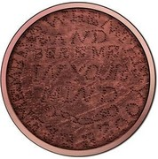Australia 1 Dollar Convict Love Token - When This You See - Remember Me 2016  WHEN THIS YOU SEE REMEMBER ME AND BARE ME IN YOUR MIND coin reverse