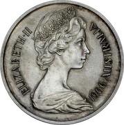 Australia 1 Dollar Pattern 1966  ELIZABETH II 1966 AUSTRALIA coin obverse