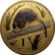Australia 1 Dollar Tree Kangaroo 2012  1 DOLLAR coin reverse