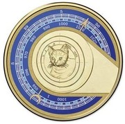 Australia 1 Dollar Unlikely Heroes Great and Small - Feline Mascot 2015  5 20 5 30 1000 1 950 960 970 980 990 1000 1010 1020 coin reverse