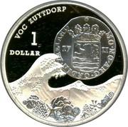 Australia 1 Dollar VOC Zuytdorp 2011 VOC ZUTTDORP 1 DOLLAR coin reverse