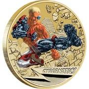Australia 1 Dollar Young Collectors Super Powers Series - Cybernetics 2014  CYBERNETICS P TV coin reverse