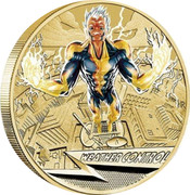 Australia 1 Dollar Young Collectors Super Powers - Weather Control 2014  WEATHER CONTROL P coin reverse