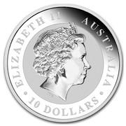 Australia 10 Dollars Australian Koala 2014 ELIZABETH II AUSTRALIA 10 DOLLARS IRB coin obverse
