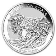 Australia 10 Dollars Australian Koala 2014 AUSTRALIAN KOALA 2014 10 OZ 999 SILVER P MG coin reverse