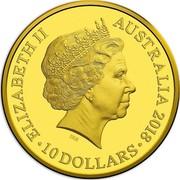 Australia 10 Dollars Rascals & Ratbags 2018 ELIZABETH II AUSTRALIA 2018 10 DOLLARS IRB coin obverse