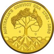 Australia 10 Dollars Rascals & Ratbags 2018 AUSTRALIA'S CONVICT ERA 1788 - 1868 C coin reverse