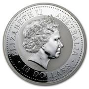 Australia 10 Dollars Year of the Pig 2007 ELIZABETH II AUSTRALIA 10 DOLLARS IRB coin obverse