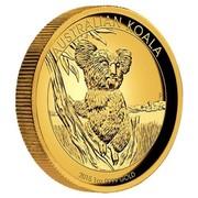 Australia 100 Dollars Australian Koala 2015 AUSTRALIAN KOALA 2015 1 OZ 9999 GOLD P coin reverse