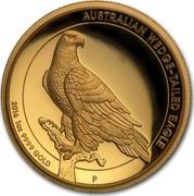 Australia 100 Dollars Australian Wedge-Tailed Eagle 2016 P KM# 2216 AUSTRALIAN WEDGE-TAILED EAGLE 2016 1 OZ 9999 GOLD P JM coin reverse